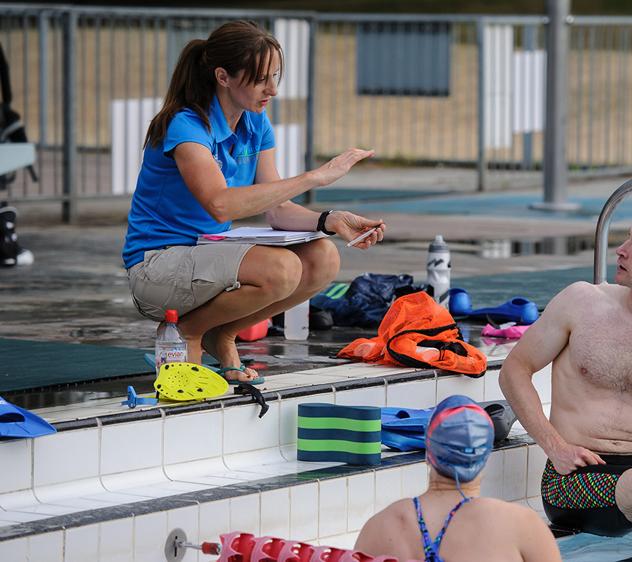 Fiona ford swimming coach in richmond london - Richmond old deer park swimming pool ...